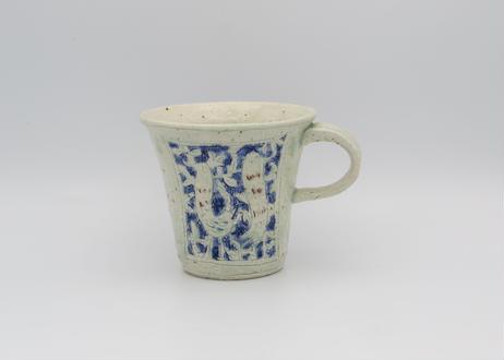 松尾三希子 色絵陶器のマグ22