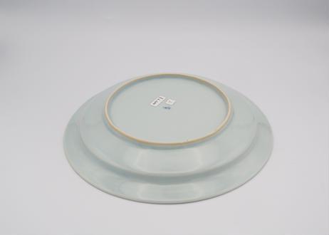 清水なお子 麦わら手7.5寸リム皿