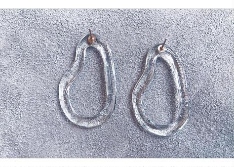 Strange Oval Earrings