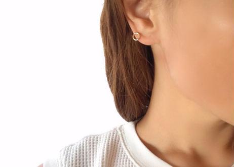14kgf Small Circle Earrings(S)