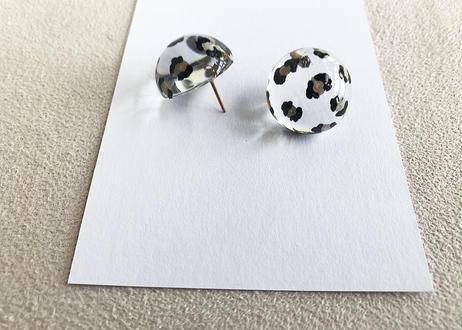 Clear Dome Earrings