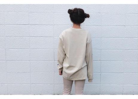 【Relax】Unisex Long Sleeve Print Tee(mais oui)