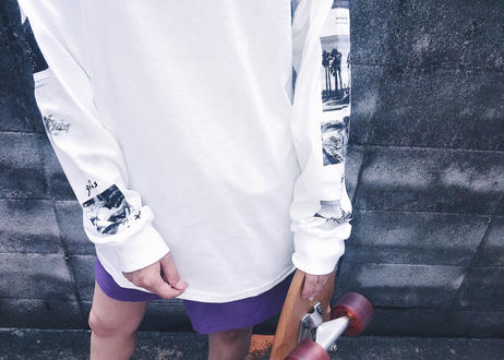 【Relax】Long Sleeve Print Tee