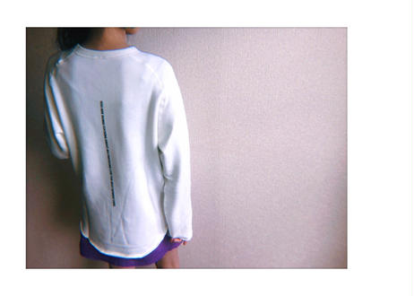 【Relax】Unisex Cut Off Logo Sweat