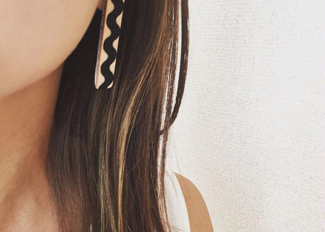 leather cord earrings