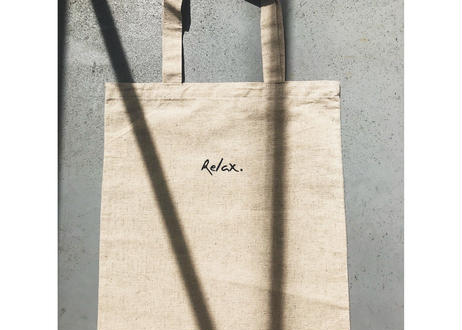 Linen Relax Tote Bag