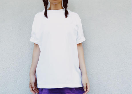 【elu graph】Unisex Back Print Big Silhouette Tee(NICE AND SMOOTH)