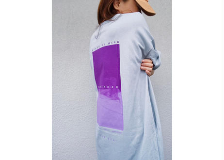 【Relax】Maxi Length Light Sweat One Piece