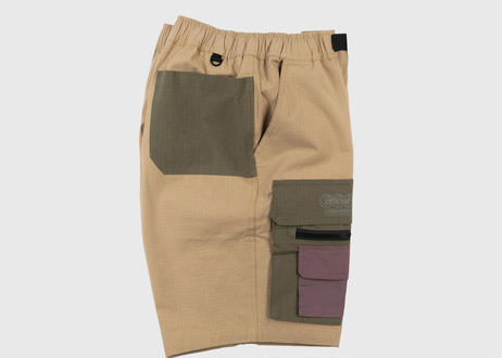 OFFICIAL Nexus Ripstop Cargo Shorts 90年代リバイバルカーゴショートパンツ