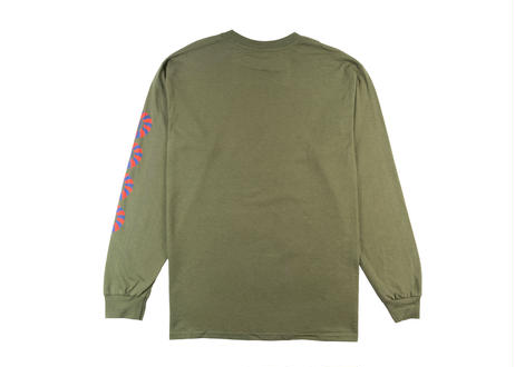 ALL GOOD TRAILS Long Sleeve T Shirt Northern California Green