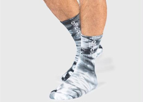 OFFICIAL Acid Tie Dye Low Crew Sock