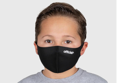 Official Nano-Polyurethane Face Mask (Black) オフィシャル マスク
