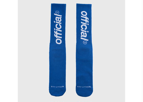 OFFICIAL Everyday Logo Crew Sock (Blue)