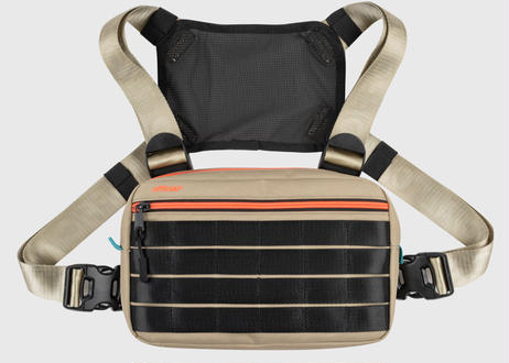 OFFICIAL COMPACT ESSENTIAL CHEST BAG DESERT CORAL