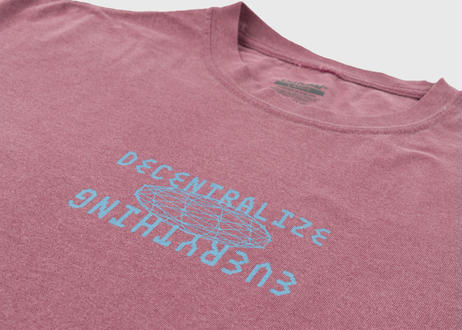 OFFICIAL Decentralize Everything T-Shirt  Purple