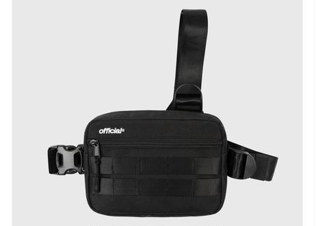 Essential Tri-Strap Chest Bag (Black)