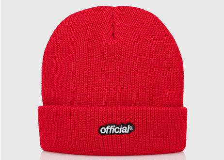 OFFICIAL Everyday Official Beanie Red