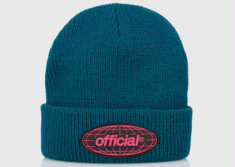 OFFICIAL WRLD Takeover Beanie (Dark Teal)