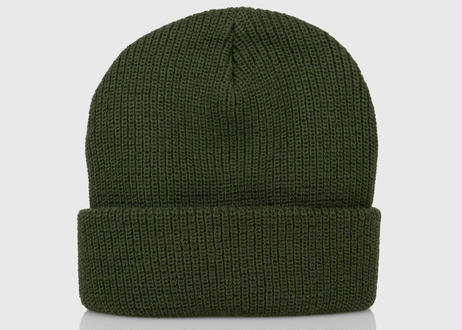 OFFICIAL Everyday Box Logo Beanie (Olive)