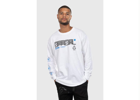 OFFICIAL Deterministic Delusion Longsleeve Shirt (White)