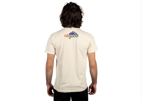 ALLGOOD Up/Right T-Shirt - Ivory