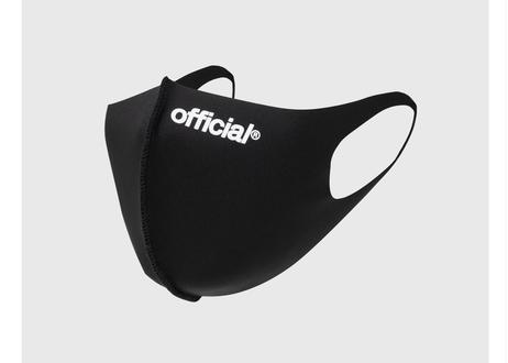 3 Pack - Official Nano-Polyurethane Face Mask (Black)