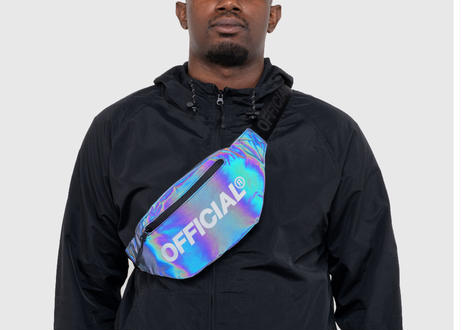 Dichroic Squid Ink Fanny Pack OFFICIAL ボディーバッグ