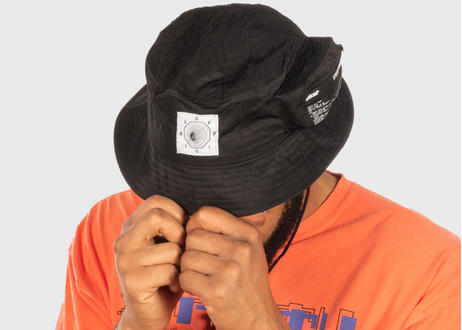 OFFICIAL Bio-Tracker Cargo Bucket Hat (Black)