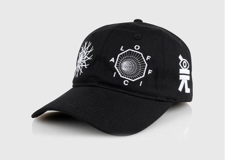 OFFICIAL Spyral Dynamics 6 Panel Dad Hat キャップ