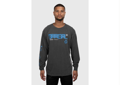 OFFICIAL Deterministic Delusion Longsleeve Shirt (Pepper Black)  Regular price