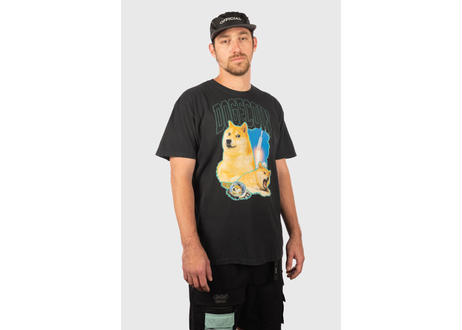 OFFICIAL Dogecoin to the Moon T-Shirt ドージコイン