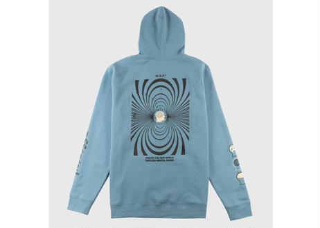 OFFICIAL Reality Distortion Field Hooded Sweatshirt (Slate Blue)