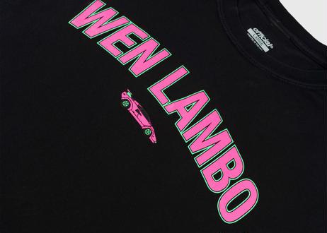 OFFICIAL Wen Lambo T-Shirt  Black