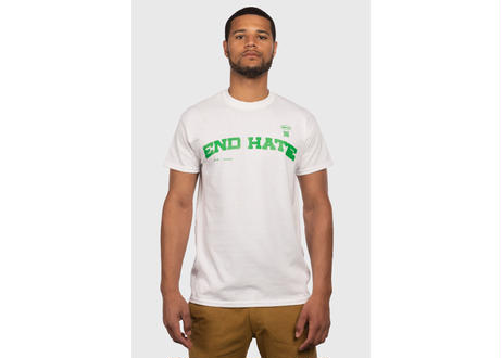 End Hate - Athletic Arc T-Shirt (White)