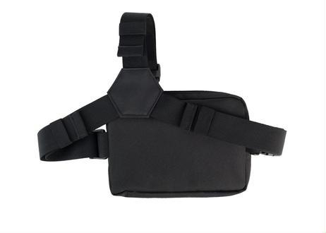 TACTICAL TRIPSTRAP BAG - BLACK