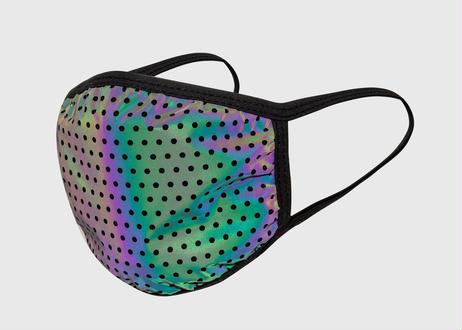OFFICIAL Face Mask Rainbow Reflective オフィシャル リフレクト マスク