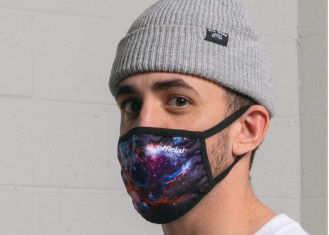 OFFICIAL Face Mask Space Multi オフィシャル マスク