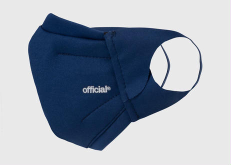 OFFICIAL Performance Face Mask NAVY 不織布マスク3月16日再入荷しました。