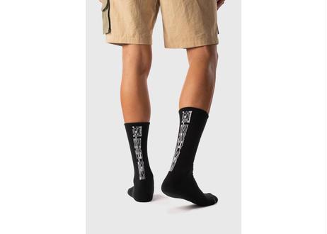 Everyday Logo Crew Sock (Black)