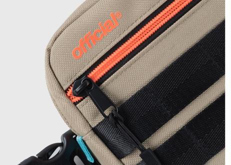 OFFICIAL TRI-STRAP CHEST BAG DESERT CORAL