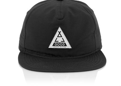 Black Tented US Hat