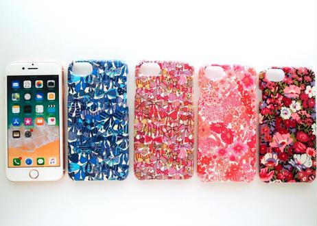 iPhone7 iPhone8ケース/ジェニーズリボンズ・ブルー(グリッター)