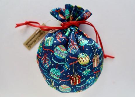 リバティキャンディ巾着・クリスマスシリーズ