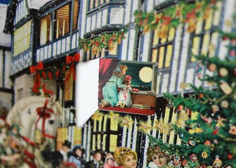 Libertyクリスマスアドベントカレンダー・雪空版(ロンドンリバティ百貨店からのお取り寄せ)