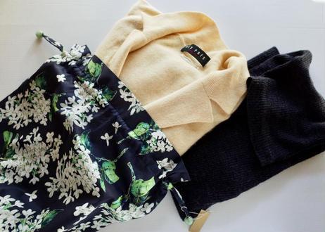 トラベル巾着大.・イルマ・水色(70%縮小サイズ)(お客様レビューあり)
