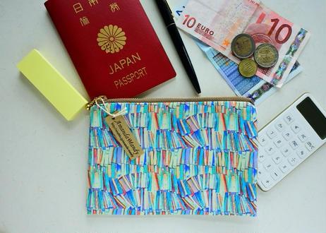 リバティ パスポートポーチ ・スリーピングローズ・イエロー