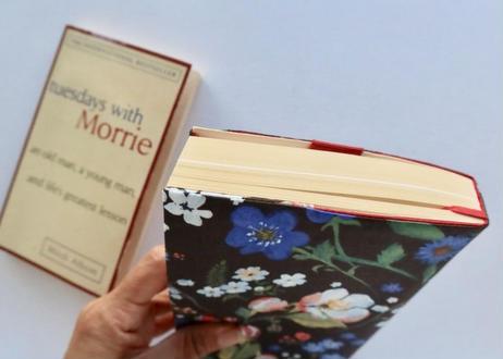リバティ新書サイズブックカバー・キャサリンロウ・ホワイト