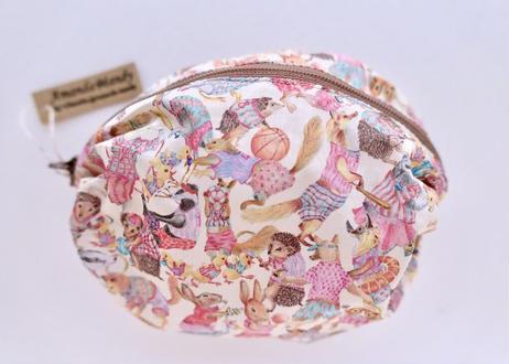 リバティバルーンポーチ(大)・ハラバルー・ピンク