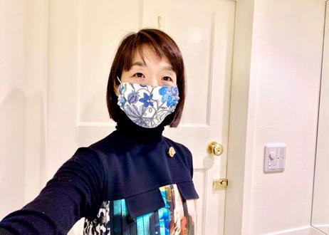 ハッピーマスク・リバティダブルガーゼ(Mサイズ)・ファンタジーランド・ピンク