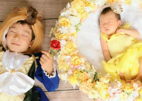 「予約購入」10月予定日・美女と野獣風リース2泊3日レンタルセット